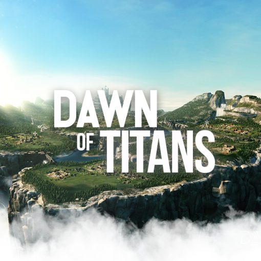 dawn of titans Level up Titans