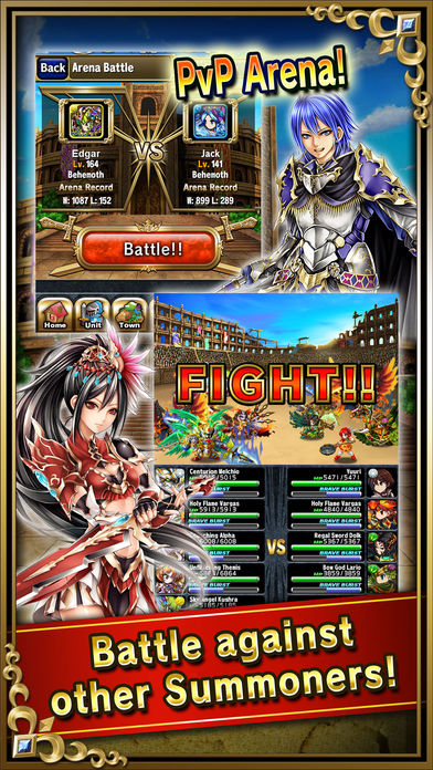 Brave Frontier – Services Zel & Karma + Level Up